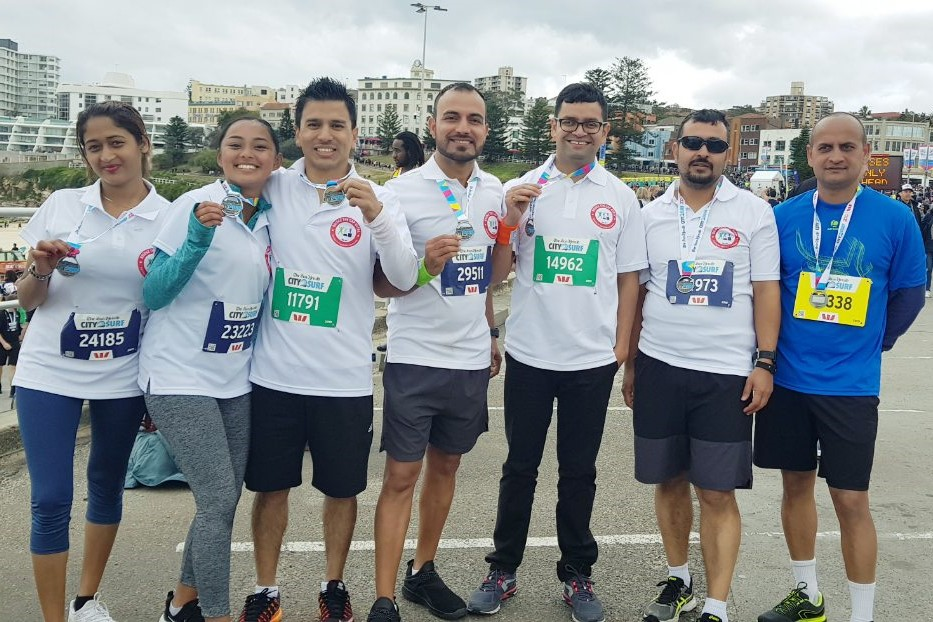 BTGN Group at City2Surf 2019